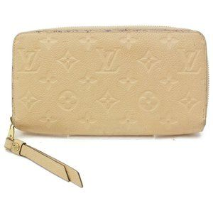 💯 Auth Louis Vuitton Empreinte Zippy Zip Wallet